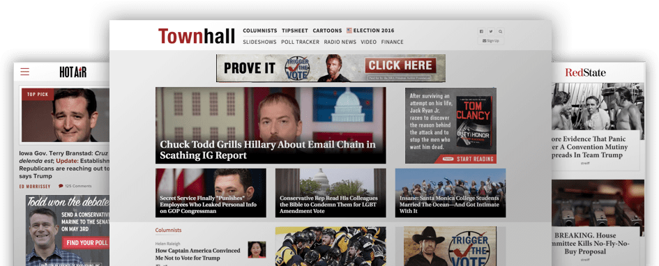 Townhall Media Web Sites